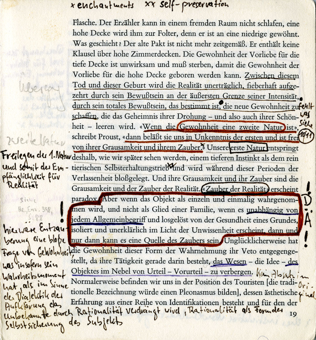 Samuel beckett essay on proust