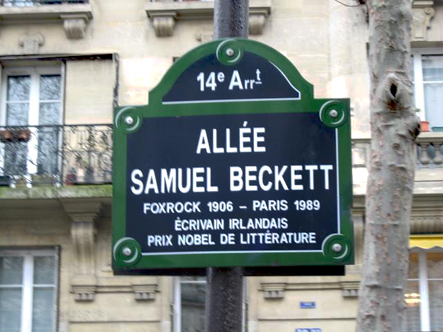 beckett-allee paris